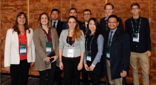 SFU students get a chance to shine at Esri Canada UC