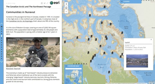 ArcGIS Online resources on the Arctic