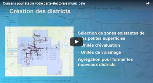 3 steps to creating your Québec municipal election map using ArcGIS