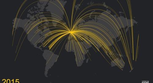 Mapping Queen Elizabeth II's 265 overseas visits in her record-breaking reign