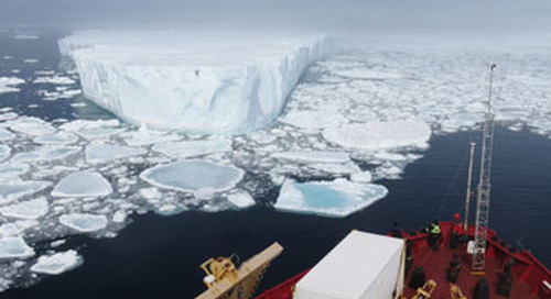 Canadian expedition uses ArcGIS-based solution to track icebergs