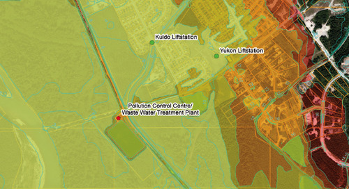 Potential Tsunami Impact Areas