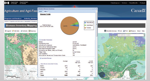 Biomass Inventory Mapping and Analysis Tool (BIMAT)