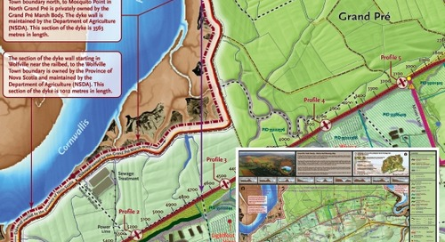 Grand Pré Trails Society - Rail-to-Trail Planning Map
