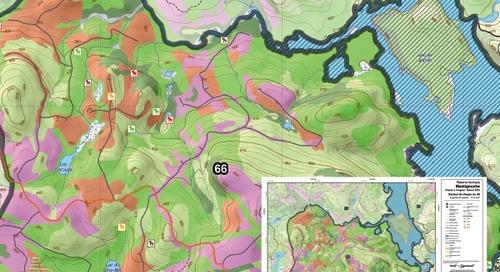 Réserve faunique Mastigouche – Moose Hunting Sector Maps