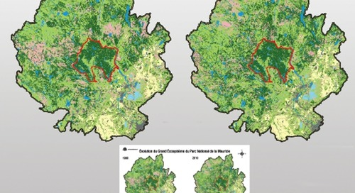 The Evolution of the Greater Ecosystem of the Mauricie National Park