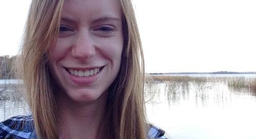 Lauren Arnold: Winner of a best student presentation award at SKI Canada 2015
