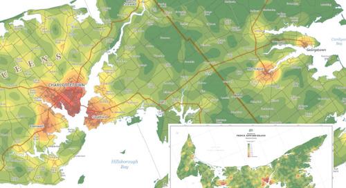 Province of Prince Edward Island Population Density