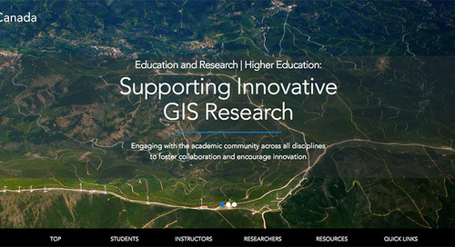 Esri Canada launches new higher education website