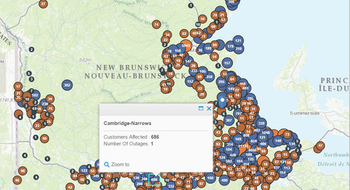 February's App of the Month: NB Power Outage Map