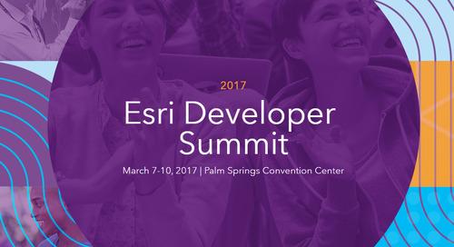 SDI Events Roundup – January 2017