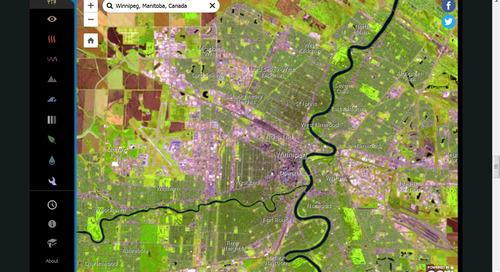 L'analyse de données géospatiales massives: la vision de l'avenir?
