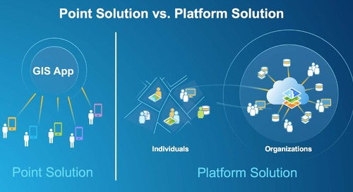 View from the North - GIS: Point Solution or Platform?