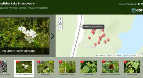ArcGIS Online: A powerful tool for documenting indigenous culture, tradition and history