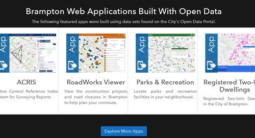 Brampton GeoHub is a star at Canadian Open Data Summit