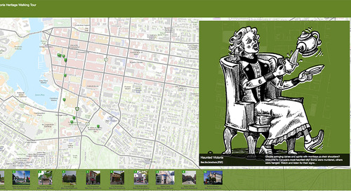 Have Some Fun with City of Victoria Story Maps