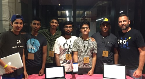 GIS Ambassador Matthew Pietryszyn: Supporting a Brampton hackathon and more