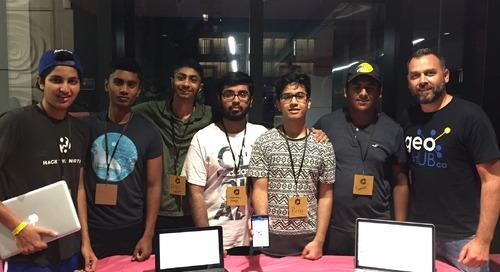 GIS Ambassador Matthew Pietryszyn: Supporting a Brampton hackathon and more