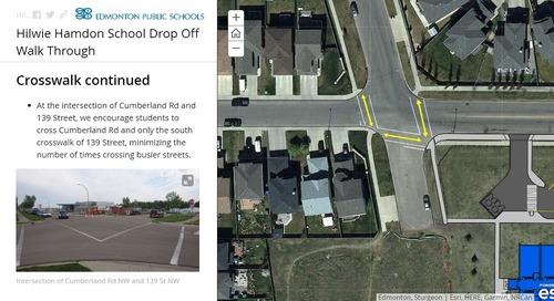 Conseil des écoles publiques d'Edmonton : promouvoir la sécurité à l'école avec les cartes récits