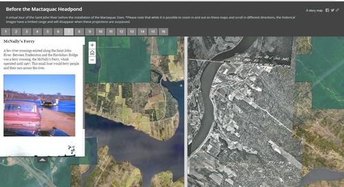 October's App of the Month: Before the Mactaquac Headpond