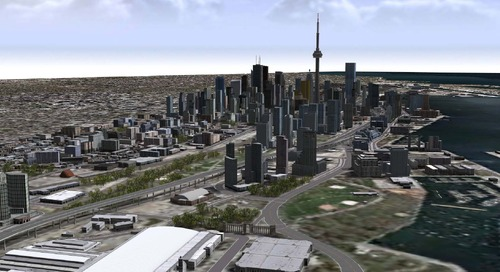iCity: 3D Geovisualization for Toronto's Digital Future