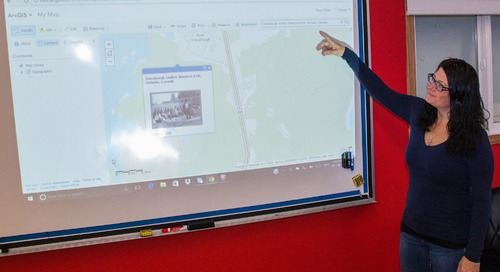 Karen Talbot: Using ArcGIS Online to engage students in their Indigenous history and much more