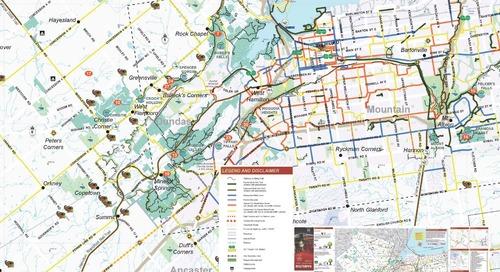 Pistes cyclables, sentiers et parcs de Hamilton