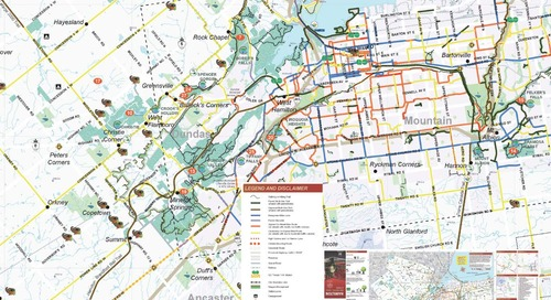 Hamilton Bike Routes, Trails & Parks