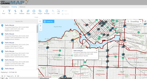 Application du mois de janvier : GeoDASH