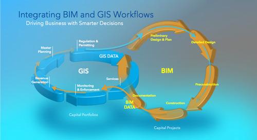 L'union des technologies SIG et BIM ouvre la voie à un avenir prometteur