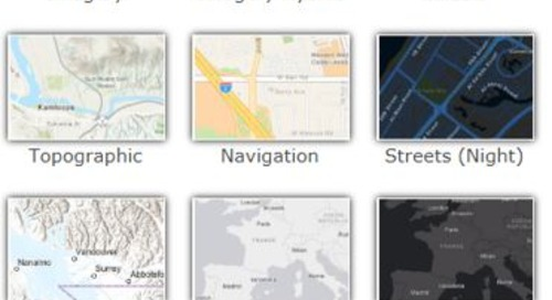 Check out the latest ArcGIS Online updates, tips and tricks