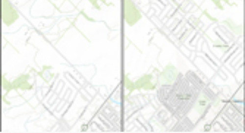 Basemap updates for Canada —  January 2018
