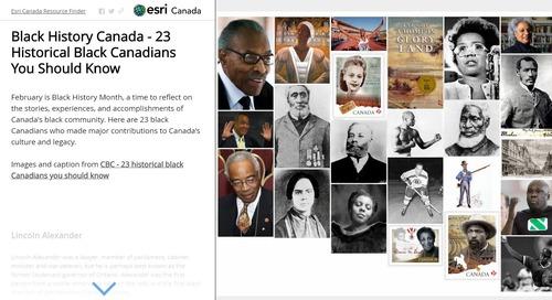 Célébrons le mois de l'histoire des Noirs avec des cartes récits