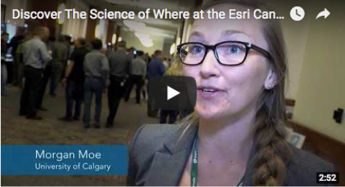 Discover The Science of Where at the Esri Canada UC