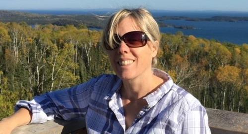 Jennifer Link, l'ambassadrice qui fait la promotion des SIG à Thunder Bay