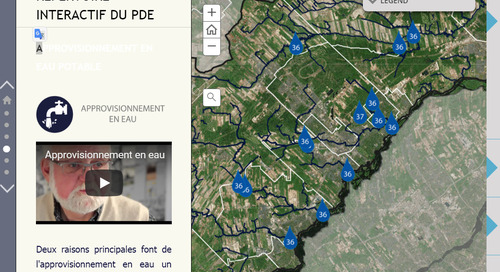 COBAMIL's story map helps raise awareness for watershed protection in Québec