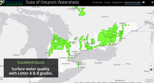 Application du mois d'avril : Bulletins des OPN sur les bassins versants