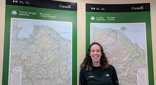GIS Ambassador Hayleigh Conway supports education in the NWT