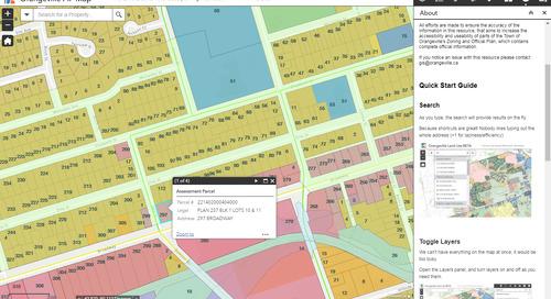 Application du mois de juin : Portail d'information sur la planification d'Orangeville
