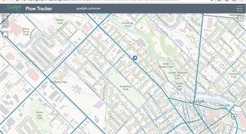 From Fleets to Trees to Utilities, GIS Helps Runs the Show in Guelph