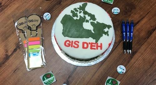 Préparez-vous pour le GIS Day 2018! Il n'est jamais trop tôt pour commencer à planifier