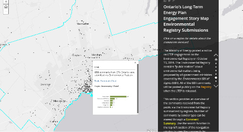 July's App of the Month: Ontario's Long-Term Energy Plan Engagement Story Map