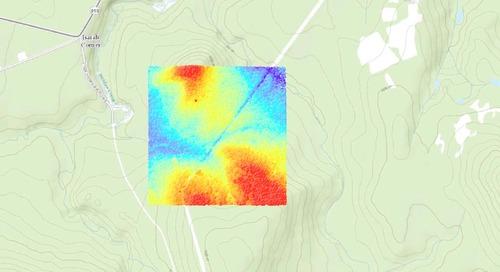 Avez-vous considéré le LiDAR comme nouvelle source de données pour votre SIG?