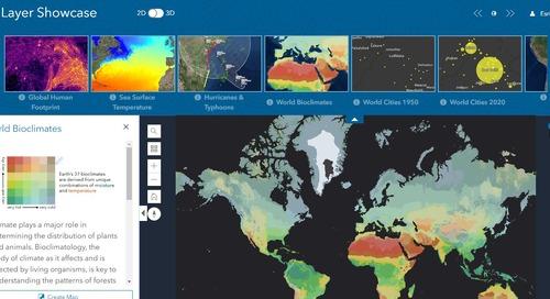 La mise à jour d'ArcGIS Online de septembre propose de nouveaux outils et applications