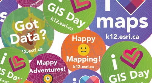 Cinq raisons de vous investir lors du GIS Day cette année