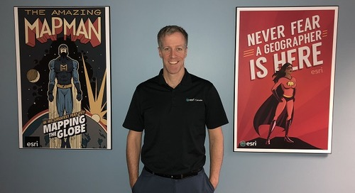 Craig MacLachlan : faire connaître les SIG aux écoles primaires et secondaires en Nouvelle-Écosse