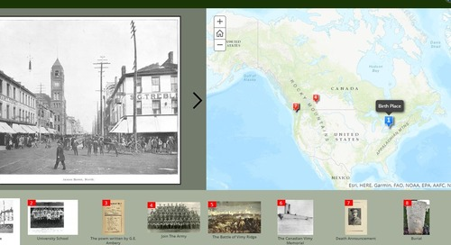 Lest we forget: Great War history comes alive in story maps