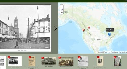 Souvenons-nous : l'histoire de la Grande Guerre prend vie dans des cartes récits