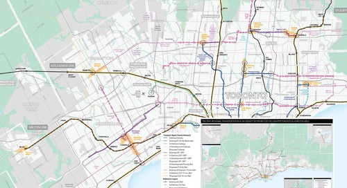 2041 Regional Transportation Plan Network Map