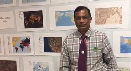 Nihal Wijesekera: January's GIS Ambassador